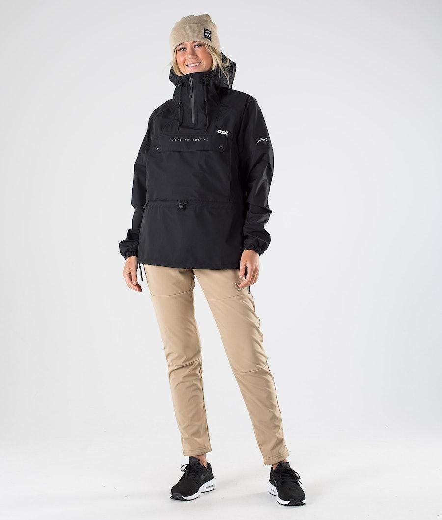 Dope Hiker 20 W Outdoor Jas Dames Black