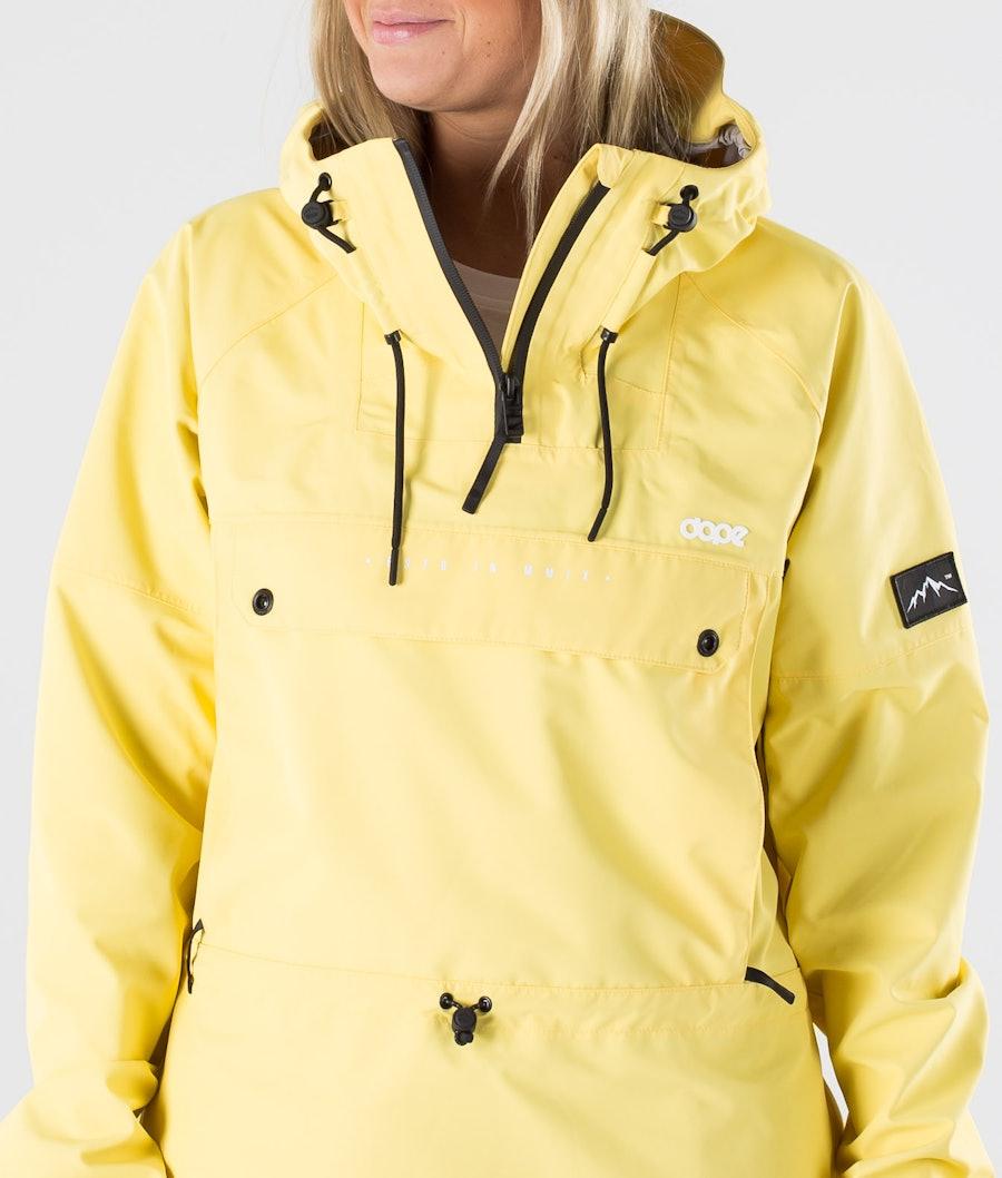 Dope Hiker 20 W Women's Outdoor Jacket Yellow