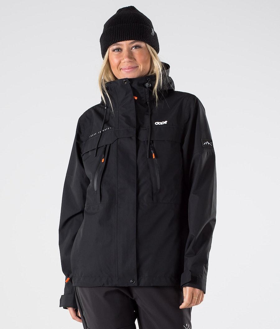 Dope Trekker 20 W Outdoor Jacket Black