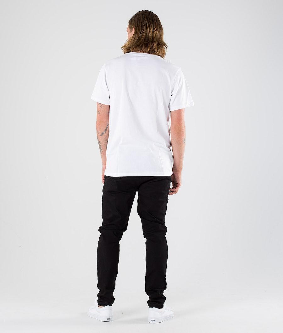 Vans OTW T-shirt White/Calypso Coral