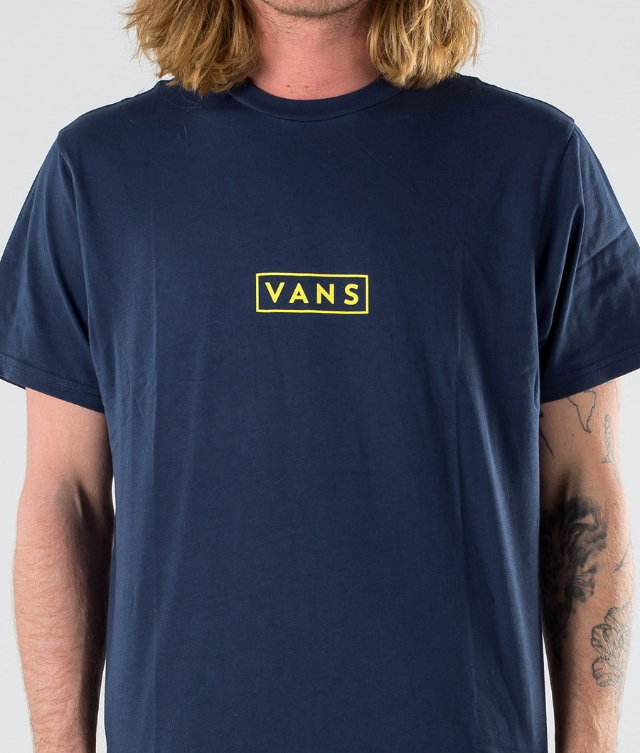 Vans Easy Box SS T-shirt Dress Blues/Sulphur Spring