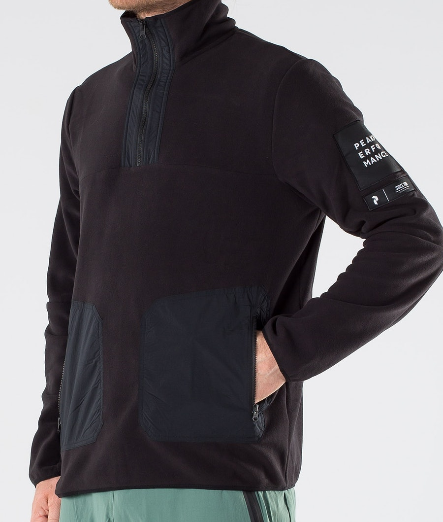 Peak Performance Tech TN Fleecetröja Black