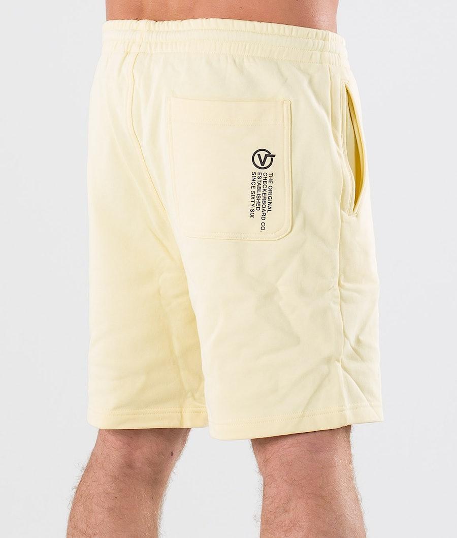 Vans Distort Type Fleece Shorts Double Cream
