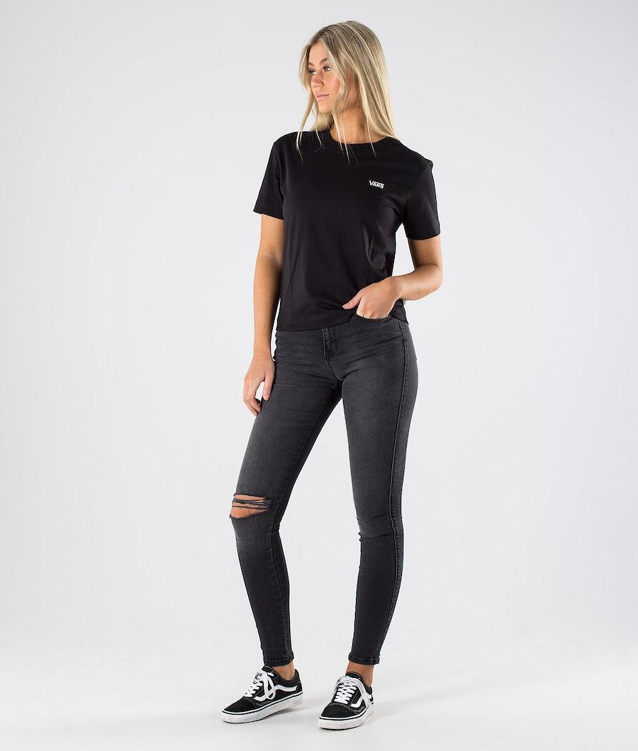 Vans Junior V Boxy T-Shirt Damen Black