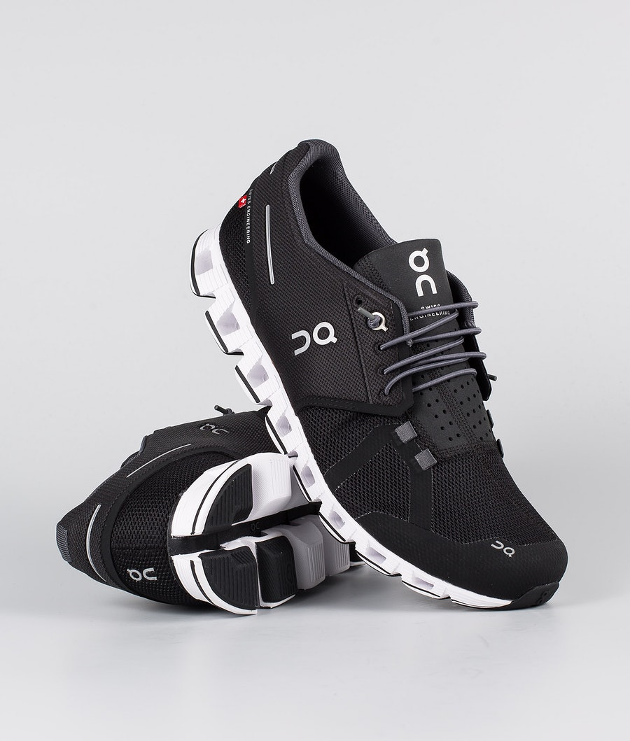 On Shoes Cloud Shoes Black/White