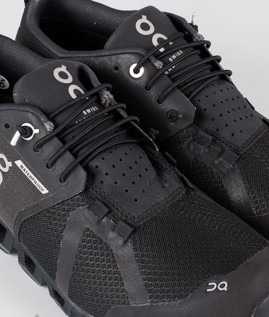 On Shoes Cloud Waterproof Women's Shoes Black/Lunar