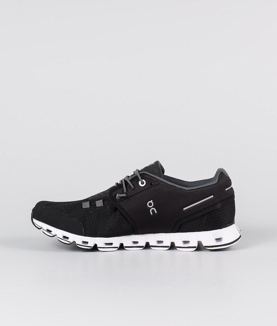 On Shoes Cloud Women's Shoes Black/White