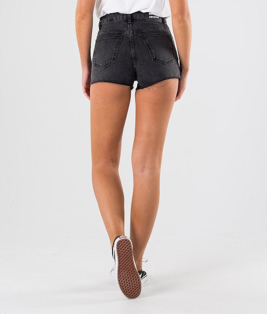 Dr Denim Skye Shorts Short Femme Retro Black