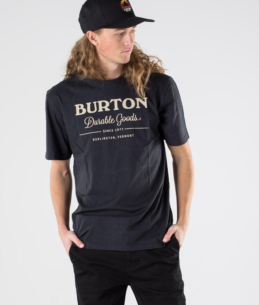 Burton Durable Goods T-shirt True Black