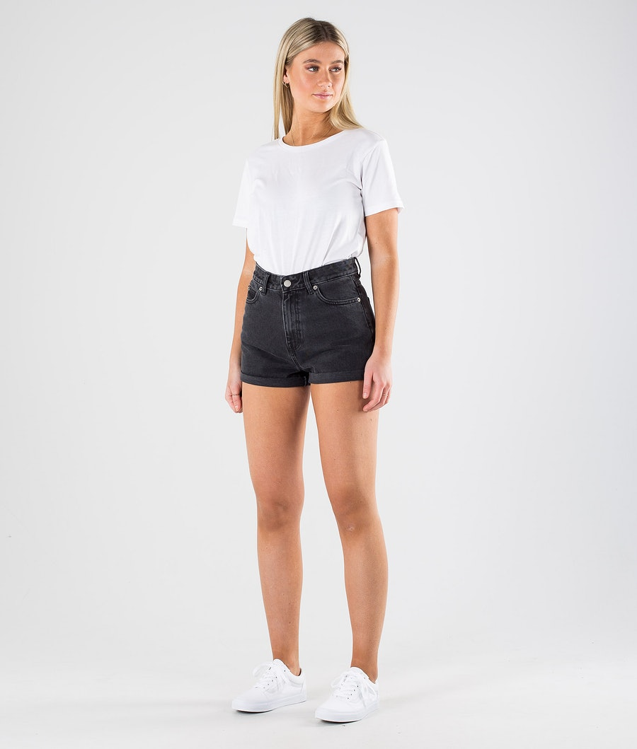 Dr Denim Jenn Shorts Short Femme Retro Black