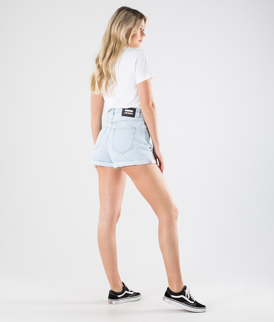 Dr Denim Jenn Shorts Naisten Shortsit Superlight Indigo Blue