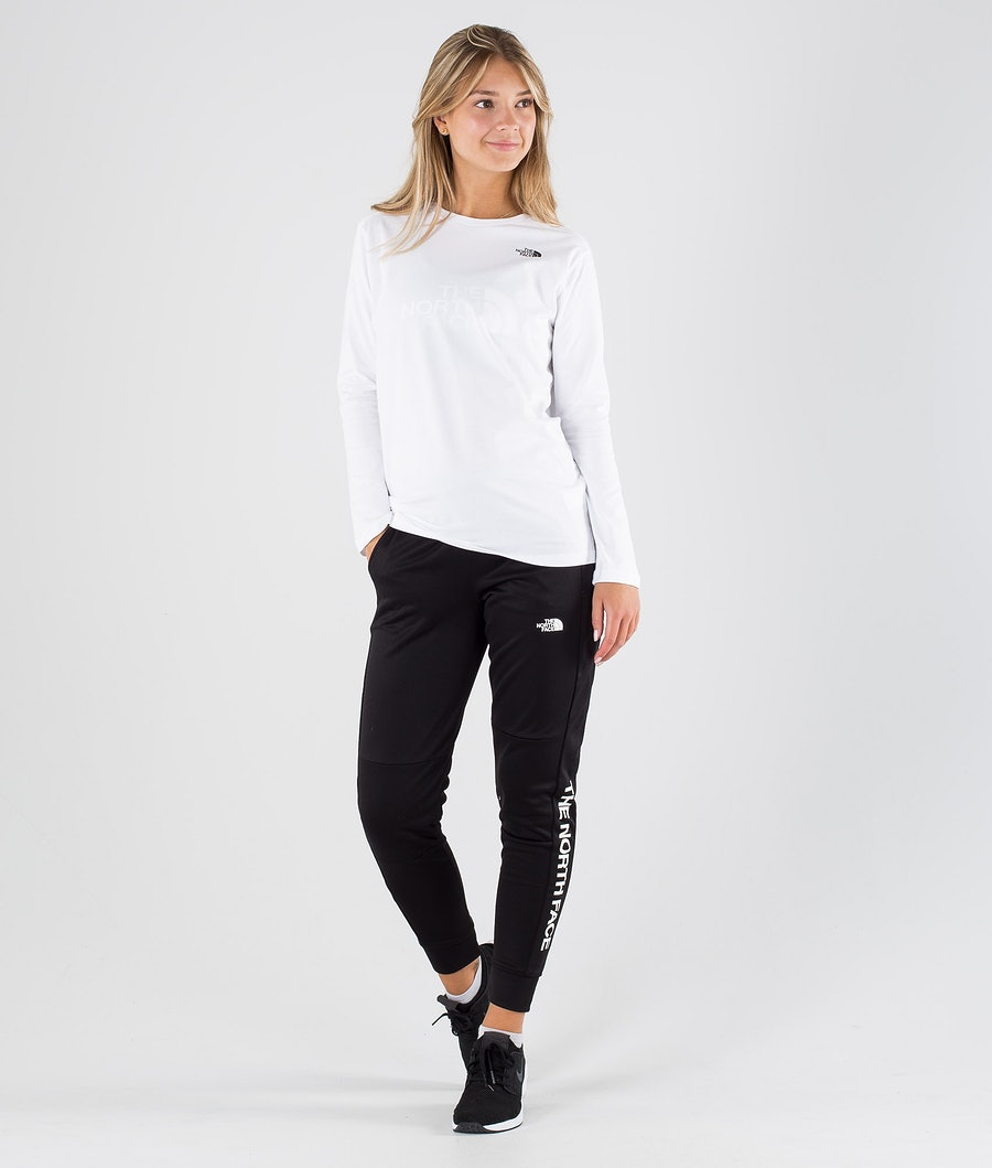 The North Face Simple Dome Longsleeve Dam Tnf White