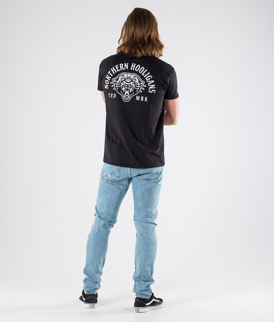 Northern Hooligans Mountain Lion T-shirt Black