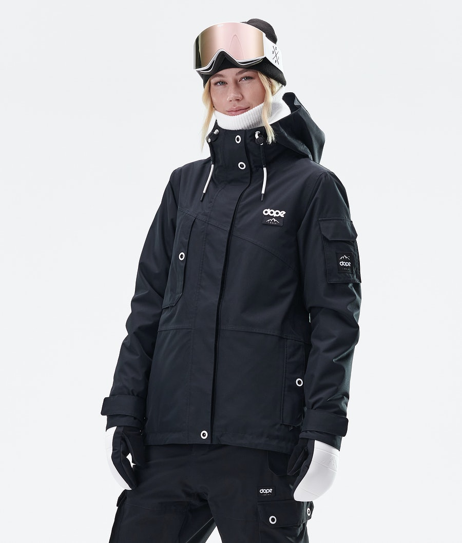 Adept W Snowboard Jacket Women Black