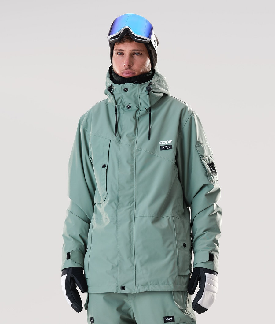 Adept Snowboard Jacket Men Faded Green