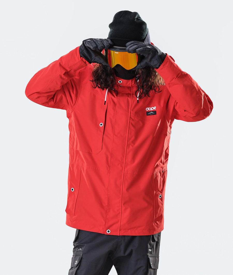 Adept Snowboard Jacket Men Red
