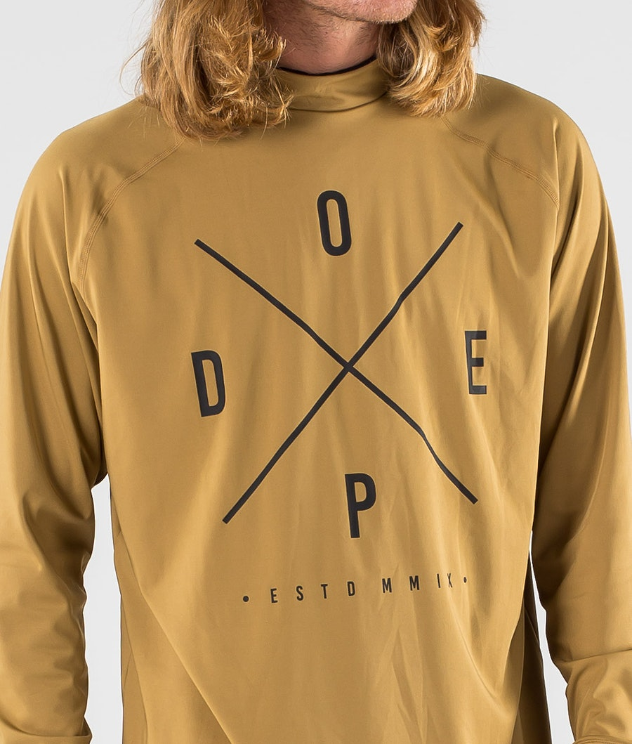 Dope Snuggle 2X-UP Underställströja Gold