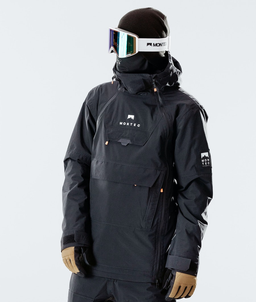 Montec Doom Ski Jacket Black