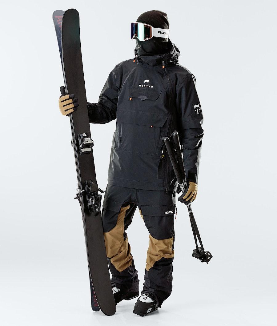 Montec Doom Ski Jacket Black