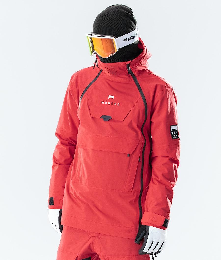 Doom Ski Jacket Men Red