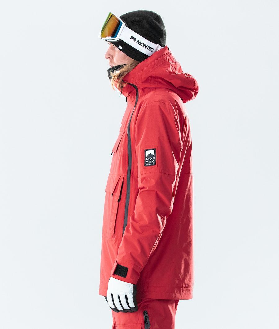 Montec Doom Ski Jacket Red