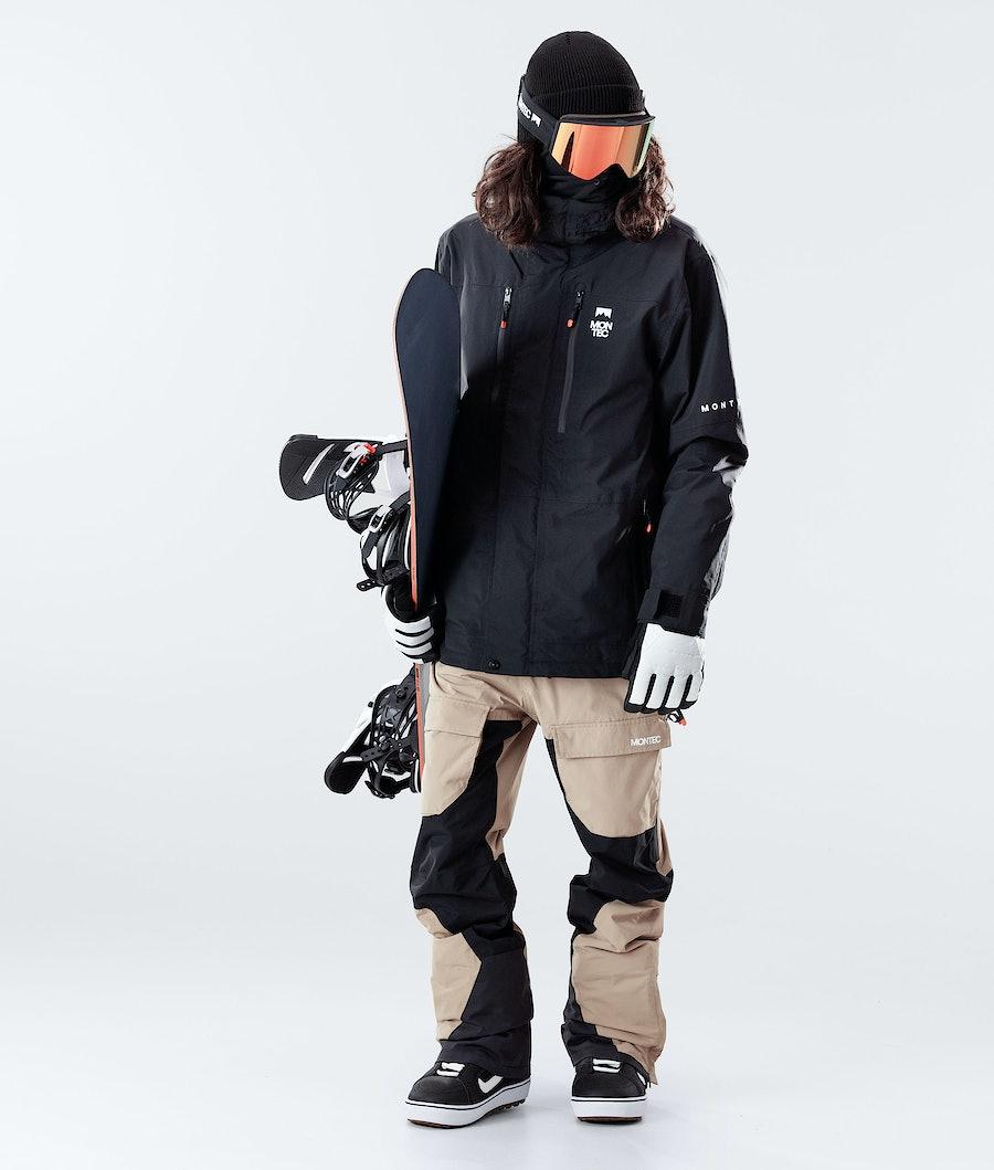 Montec Fawk Giacca Snowboard Black