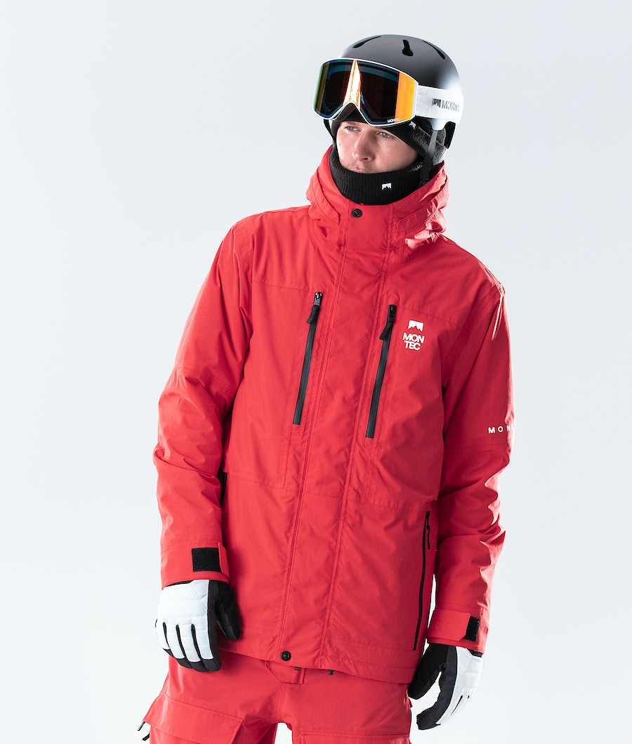 Montec Fawk Giacca Snowboard Red