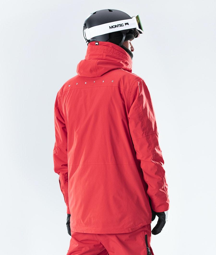 Montec Fawk Snowboard Jacket Red