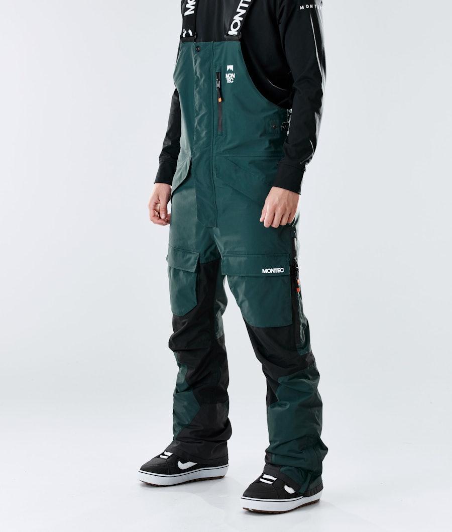 Fawk Ski Pants Men Dark Atlantic/Black