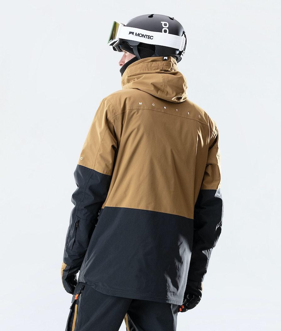 Montec Fawk Snowboard Jacket Gold/Black