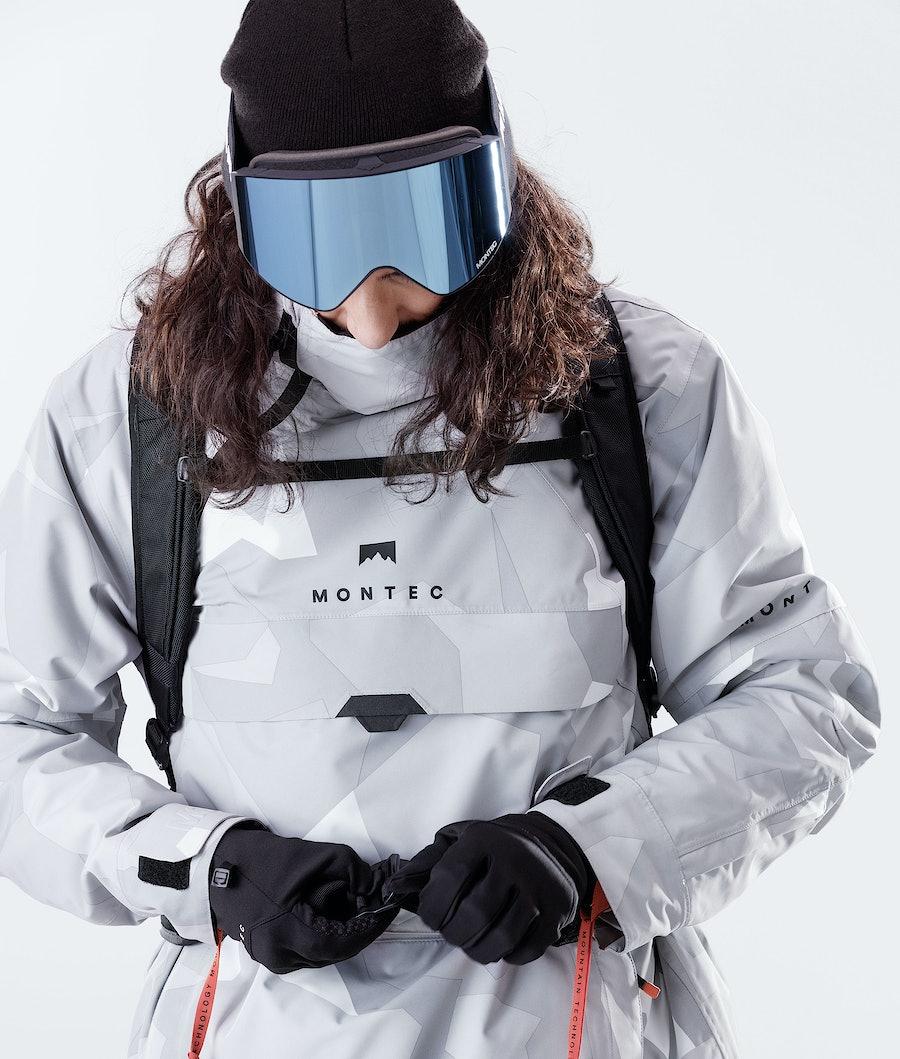 Montec Dune Snowboard Jacket Snow Camo