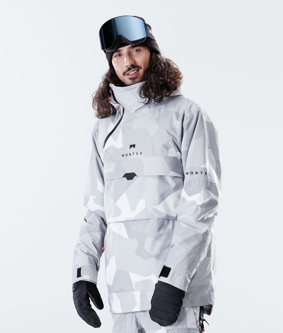 Dune Ski Jacket Men Snow Camo