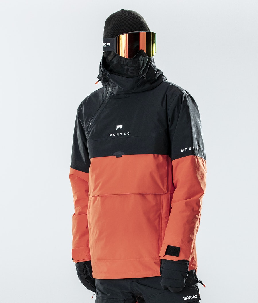 Dune Ski Jacket Men Black/Orange