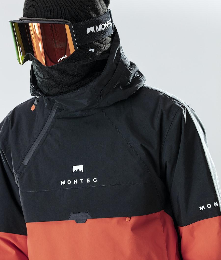 Montec Dune Ski Jacket Black/Orange