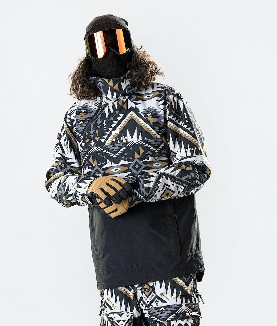 Dune Ski Jacket Men Komber Gold/Black