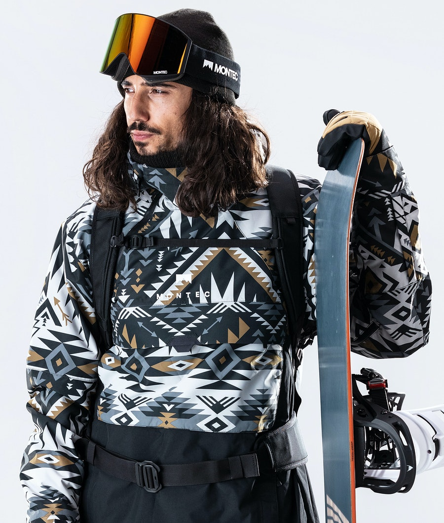 Montec Dune Snowboard Jacket Komber Gold/Black