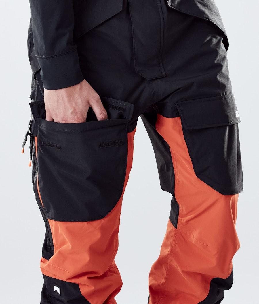 Montec Fawk Snowboard Pants Black/Orange