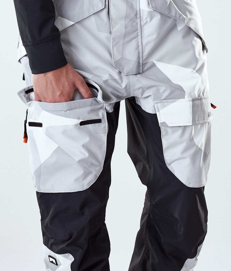 Montec Fawk Snowboard Pants Snow Camo/Black