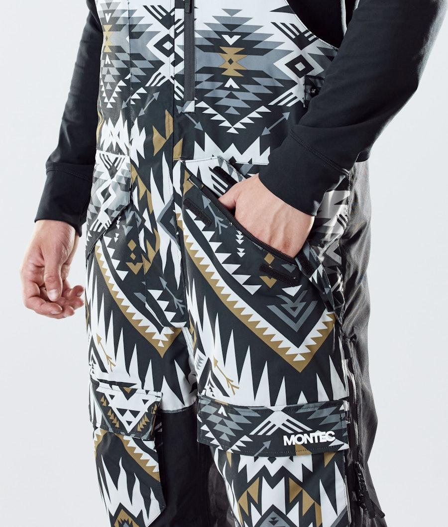 Montec Fawk Snowboard Pants Komber Gold/Black