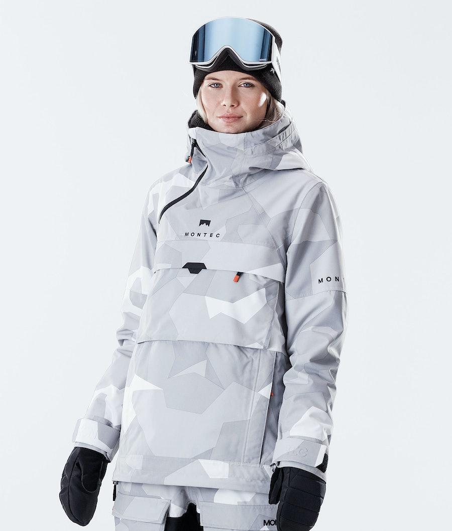 Dune W Ski Jacket Women Snow Camo