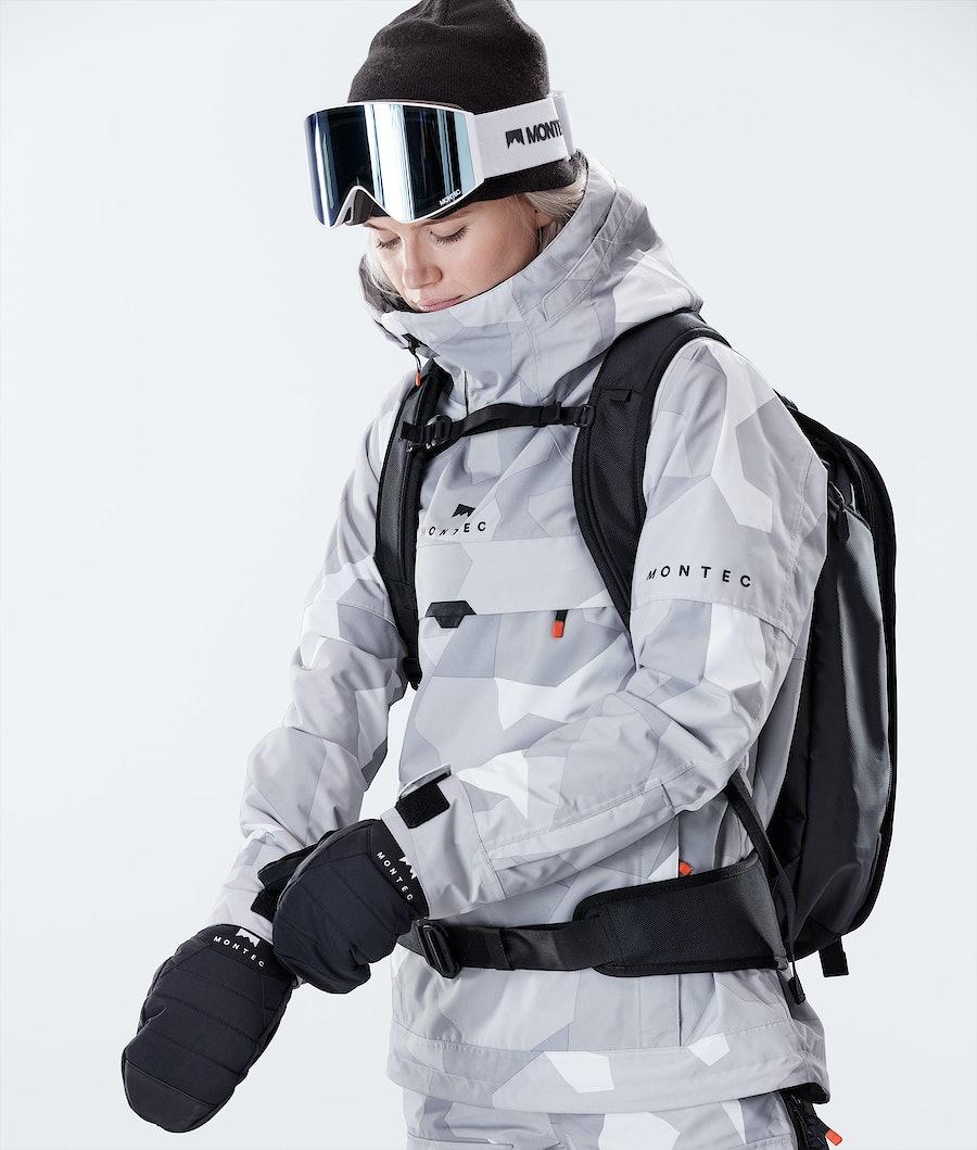 Montec Dune W Women's Snowboard Jacket Snow Camo