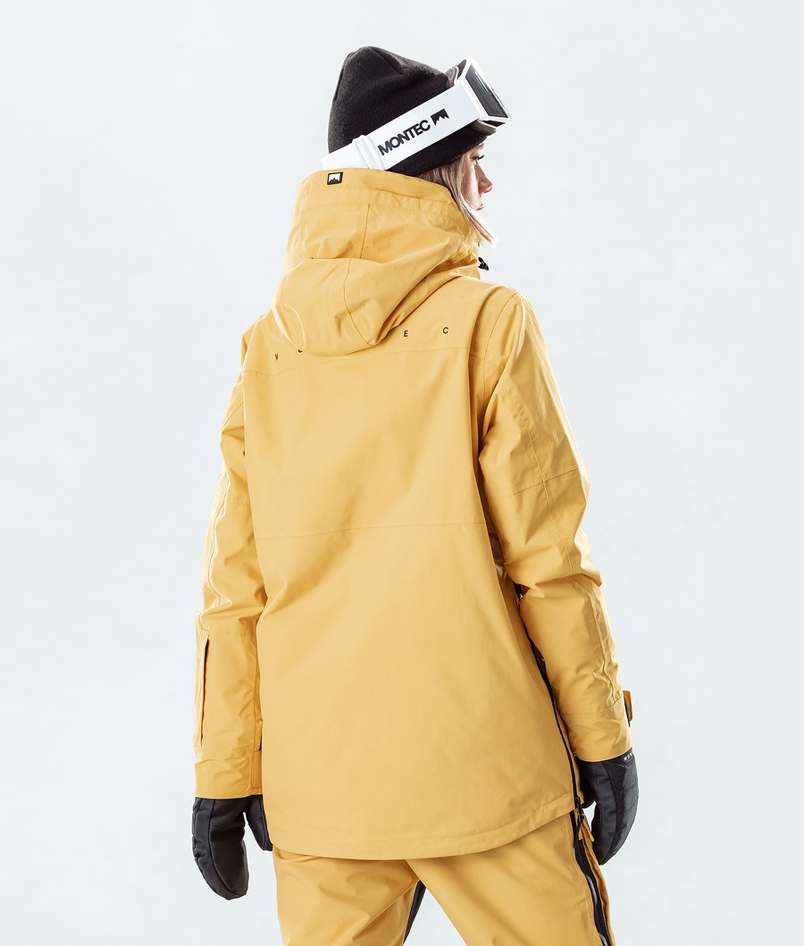 Montec Dune W Women's Snowboard Jacket Yellow