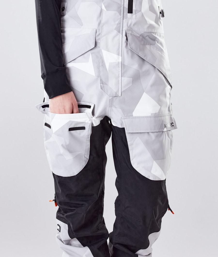 Montec Fawk W Women's Snowboard Pants Snow Camo/Black