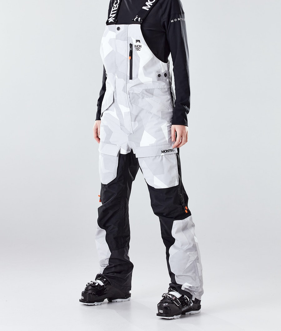 Fawk W Ski Pants Women Snow Camo/Black