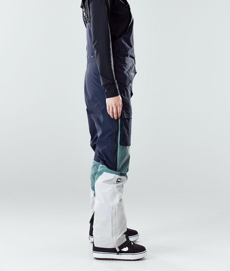 Montec Fawk W Women's Snowboard Pants Marine/Atlantic/Light Grey