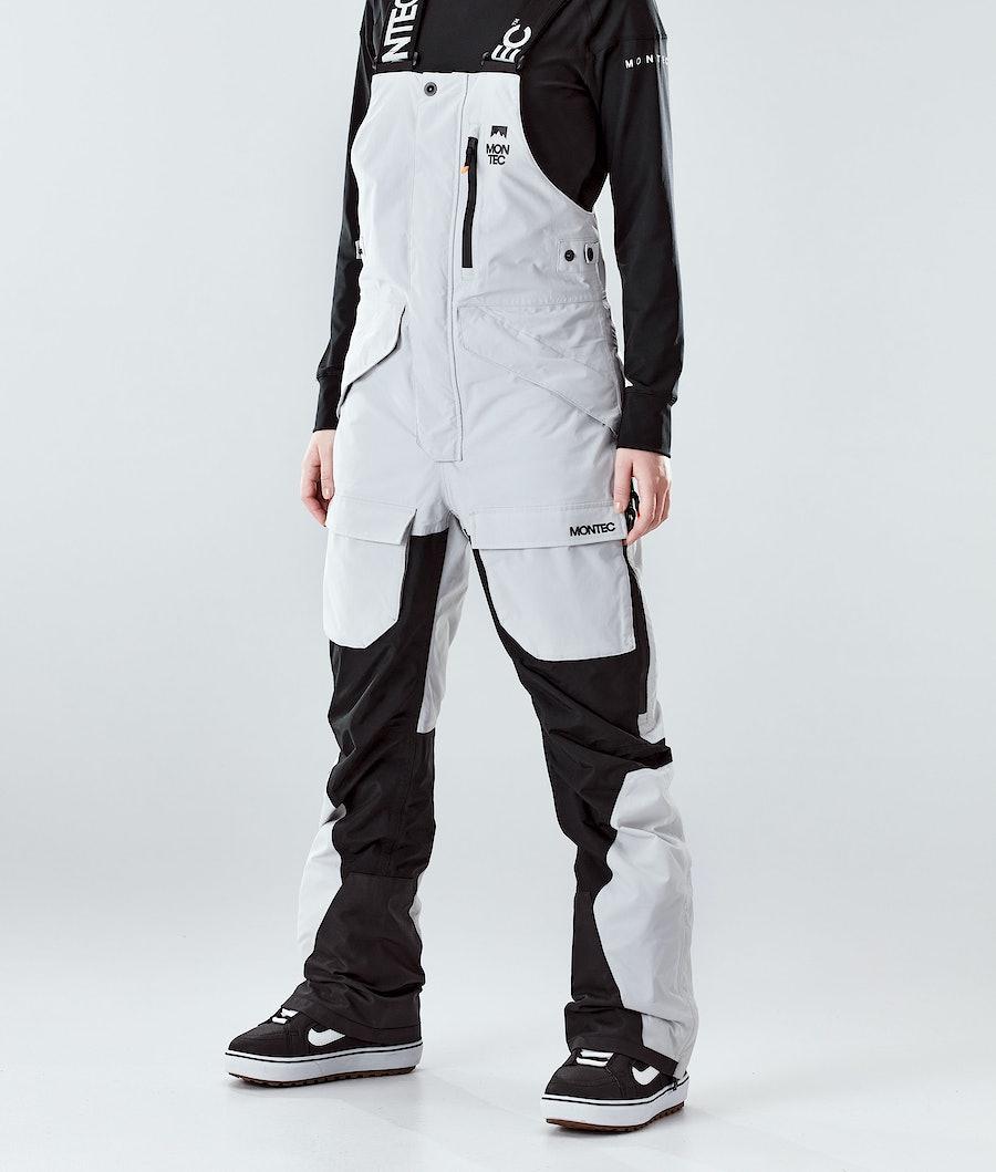 Montec Fawk W Snowboard Broek Light Grey/Black