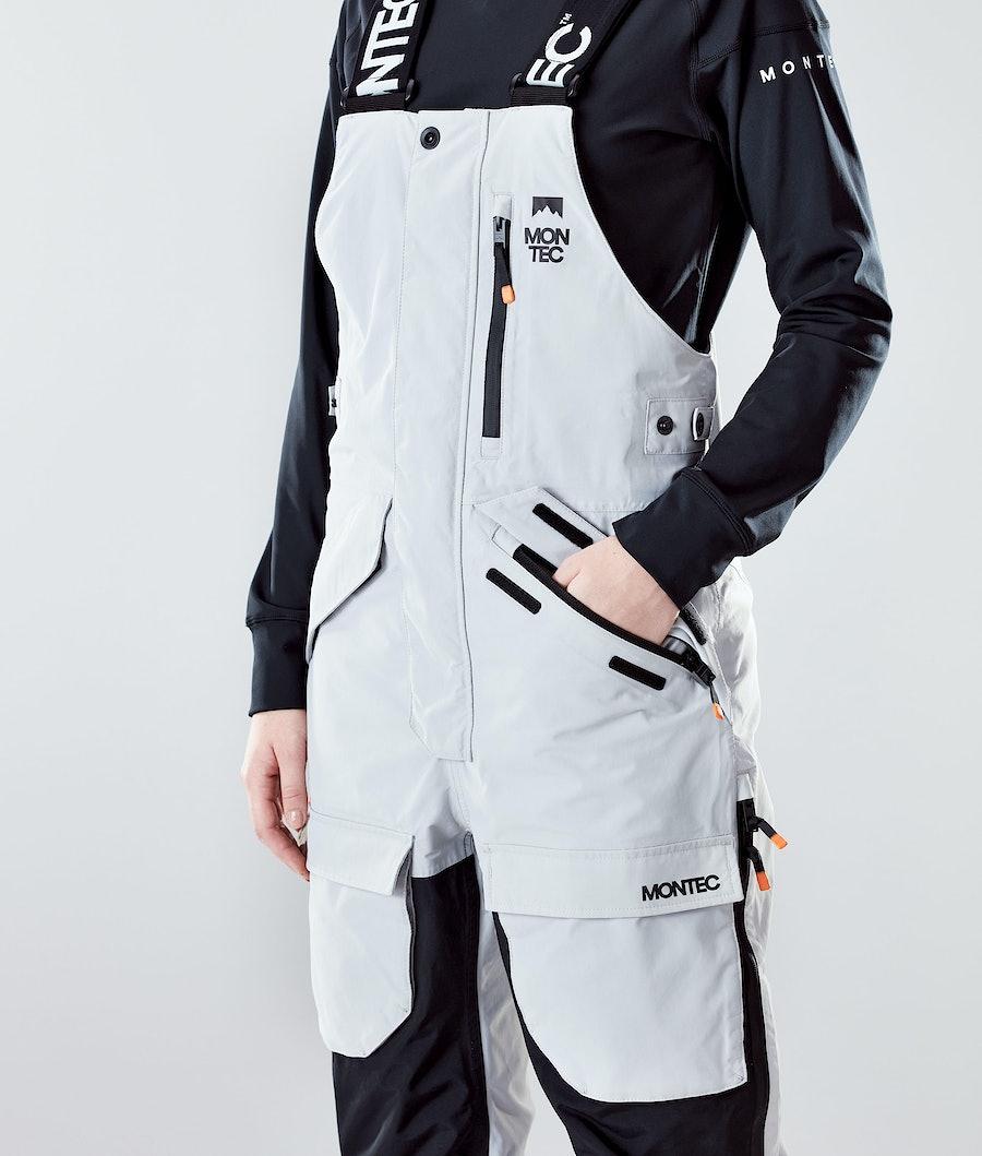 Montec Fawk W Women's Ski Pants Light Grey/Black