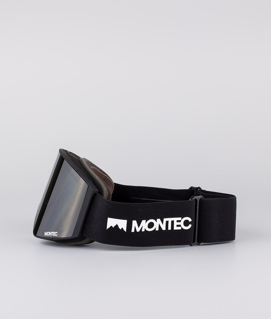 Montec Scope Ski Goggle Black W/ Black Black