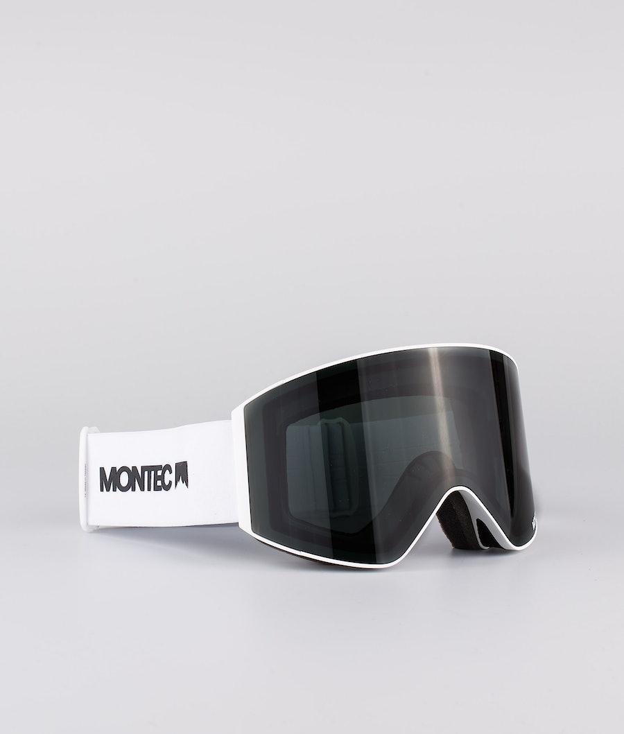 Scope Medium Ski Goggles Men White W/White Black