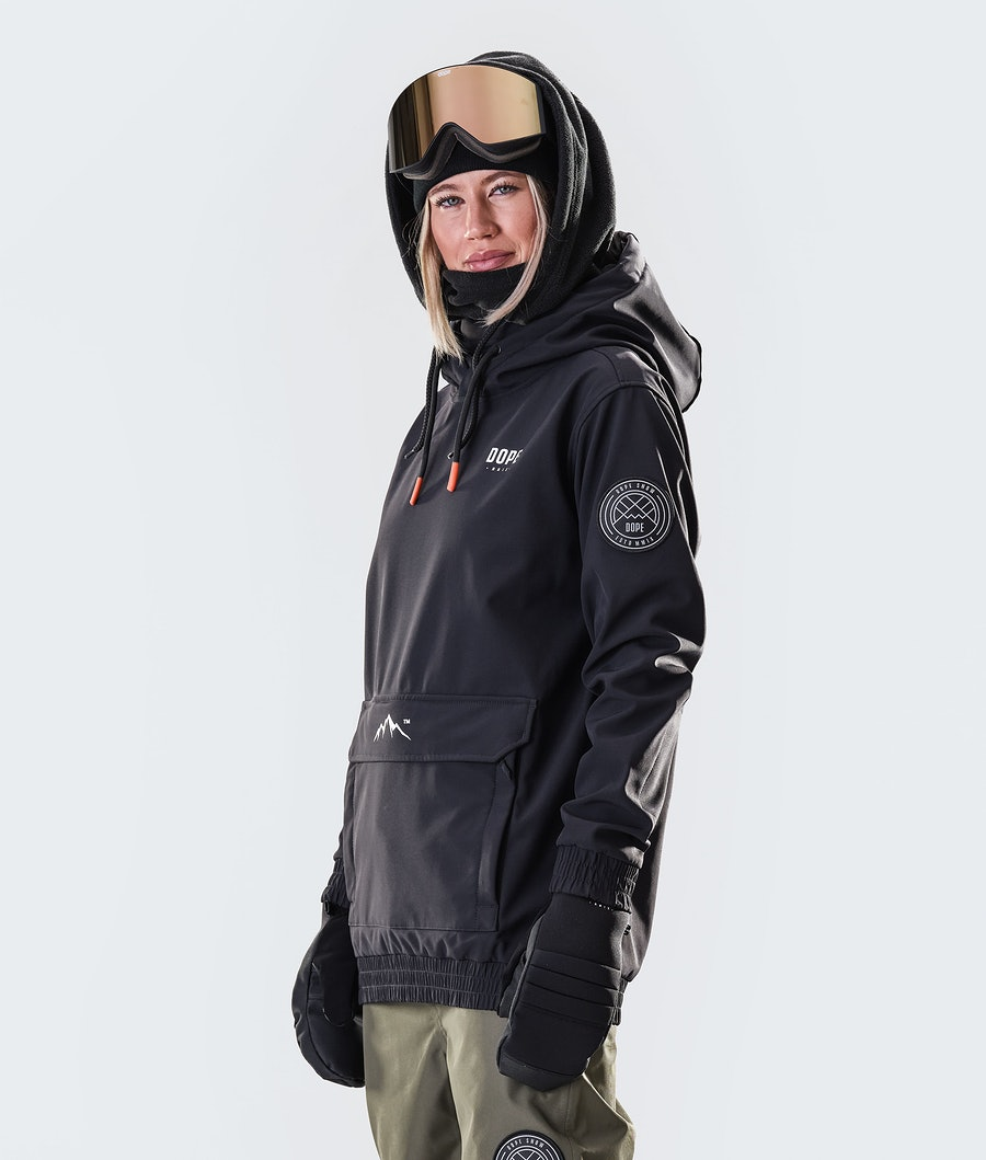 Dope Wylie Capital W Women's Snowboard Jacket Black